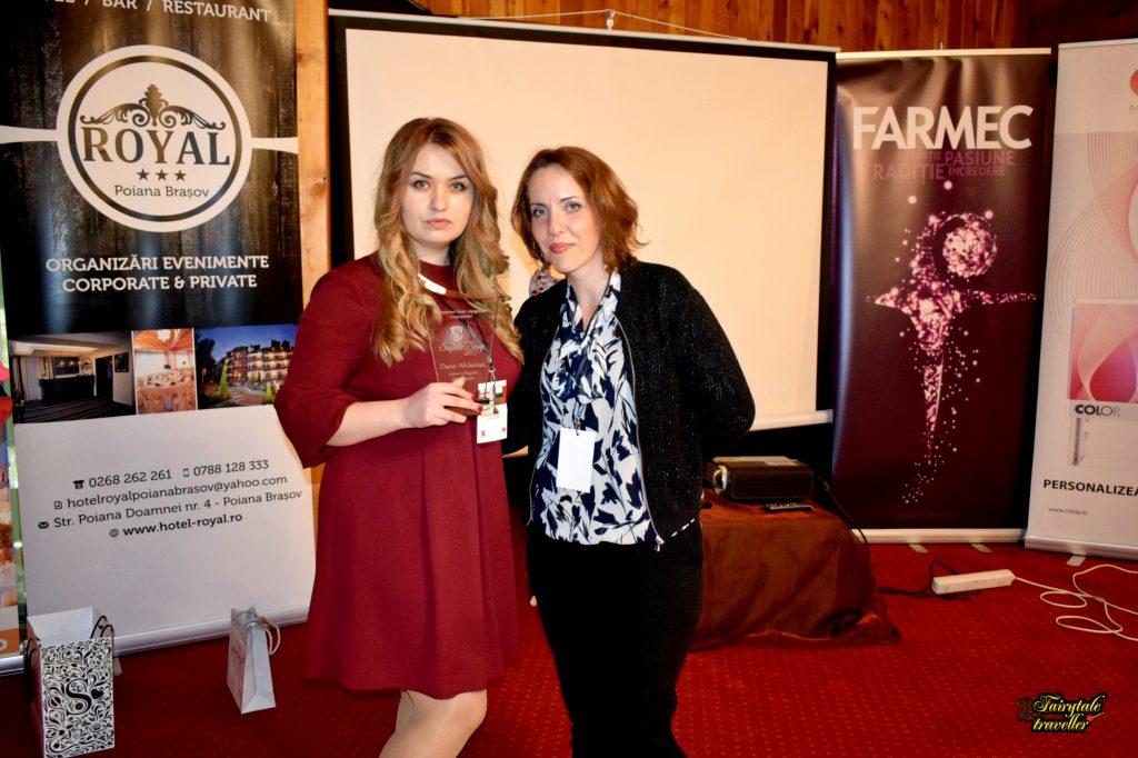 Dana Afrăsinei, Locul I și câștigător Superblog 2017