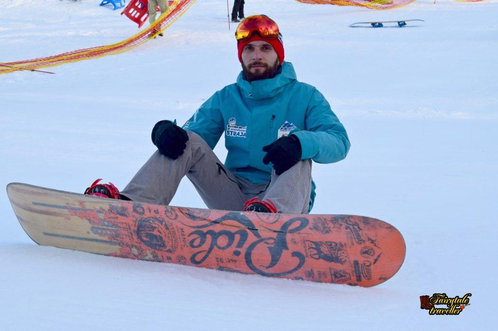 Marius Bucur, instructor de schi și snowboard