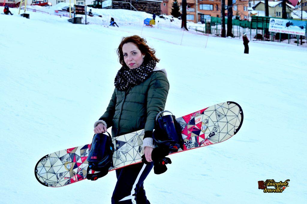 Ora de Snowboard, Straja