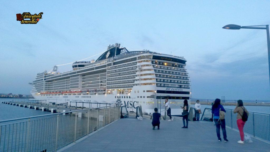 MSC Fantasia în Portul din Palma de Mallorca, foto: Calator de Poveste