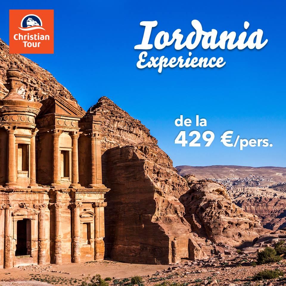 Iordania Experience; sursa: https://www.facebook.com/christiantour.ro/