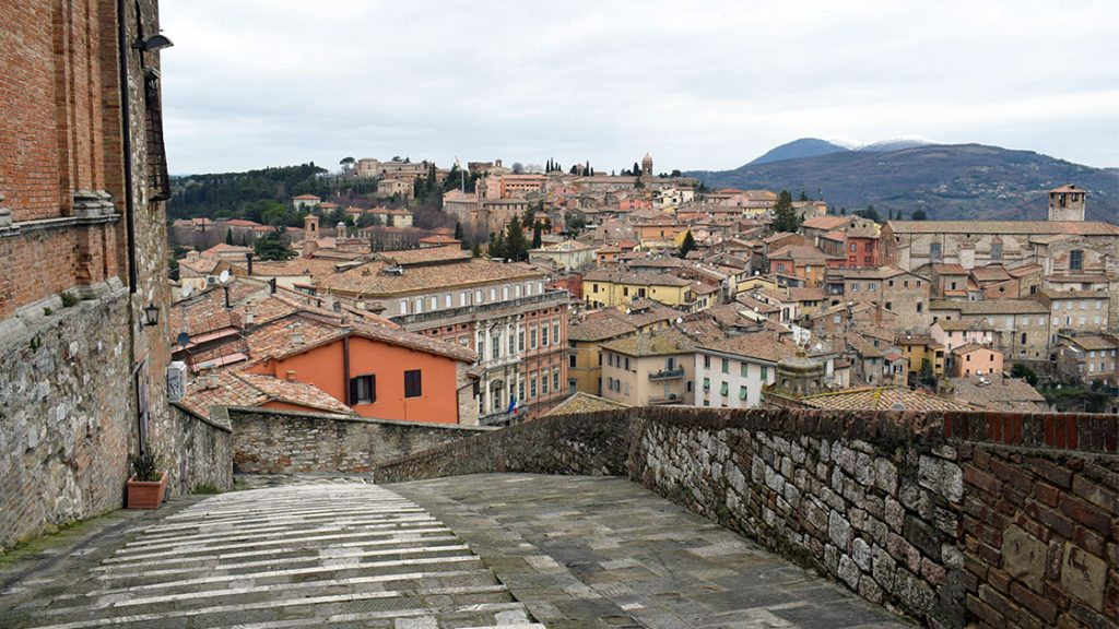 Perugia; sursa: http://thesenseofwonder.it