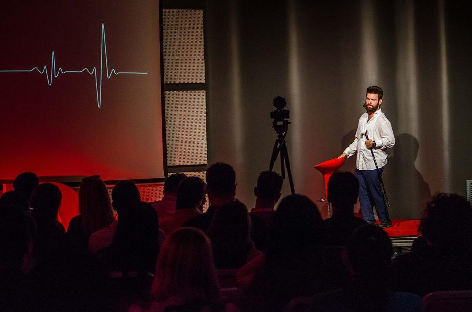 Tedy Necula, TEDx 2017. Foto: arhiva personala