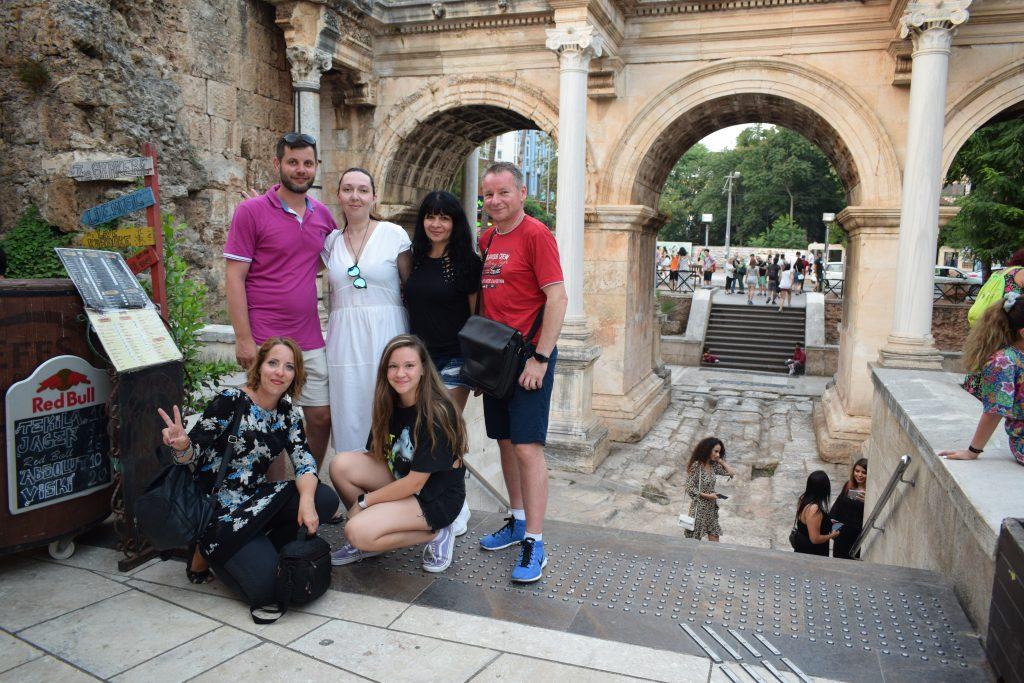 Alături de turiști români, Antalya 2019